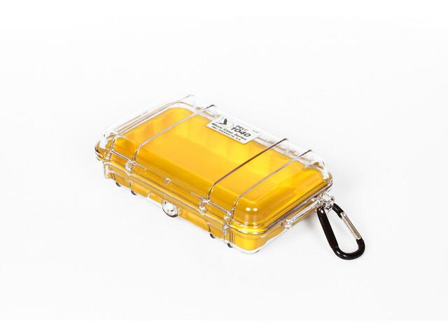 Peli MicroCase 1040, clear/yellow